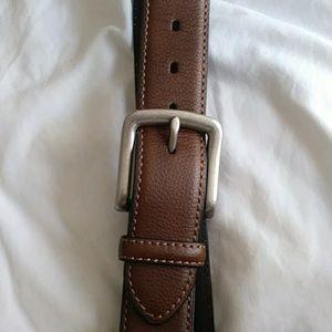 Dickies bonded  genuine leather belt  sz 42x1 $23